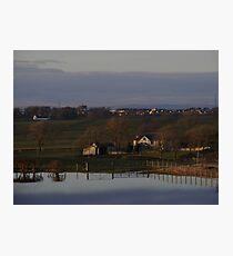 Local Flooding Photographic Print