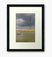 sail power Framed Print