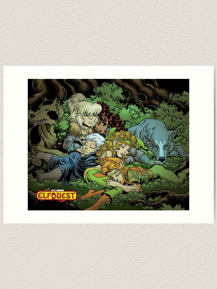 Alternate view of Elfquest: True Peace II Art Print