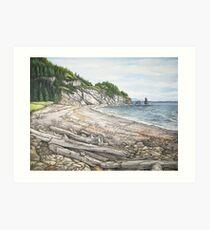 Cape Breton Seascape Art Print