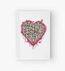 Skull Heart Hardcover Journal