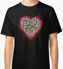 Skull Heart Classic T-Shirt