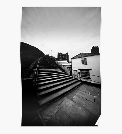 Whitby Steps Poster