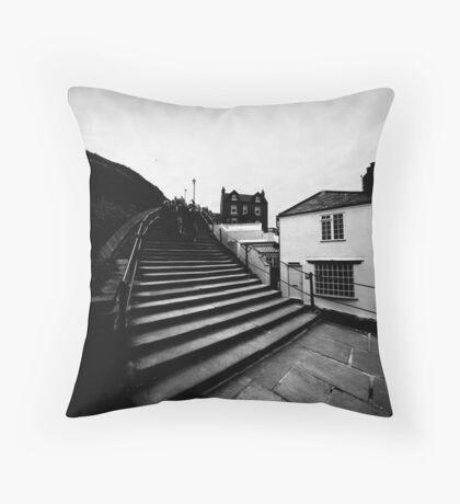 Whitby Steps Throw Pillow