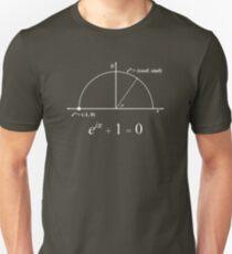 Euler's Identity (White) + Diagram T-Shirt