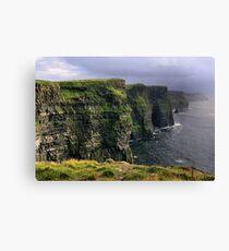 cliffs.. Canvas Print