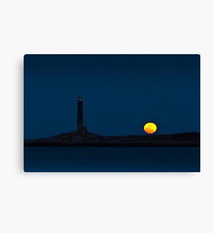 Thacher Island North Tower  Canvas Print