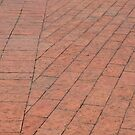 Brickwork at the Pier by Ben Waggoner
