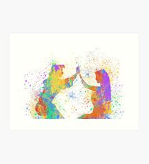 Listen with your Heart  Art Print