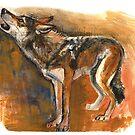 «Arabian Wolf Realistic» de belettelepink