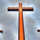 Crosses on the Hill by Tim Wright