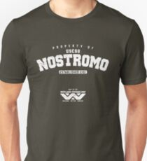 Property of USCSS Nostromo - white T-Shirt