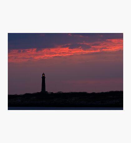 Thacher Island South Tower - Rocport Massachusetts Photographic Print