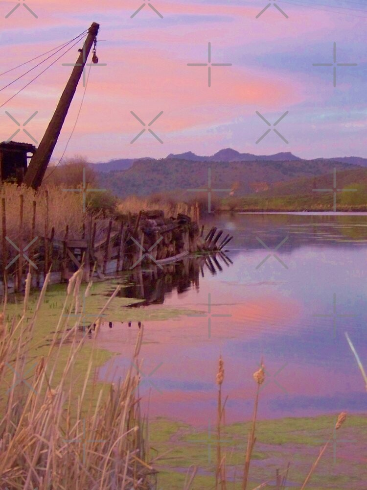 The Old Mill Pond   by Betty  Town Duncan