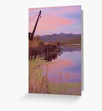 The Old Mill Pond   Greeting Card