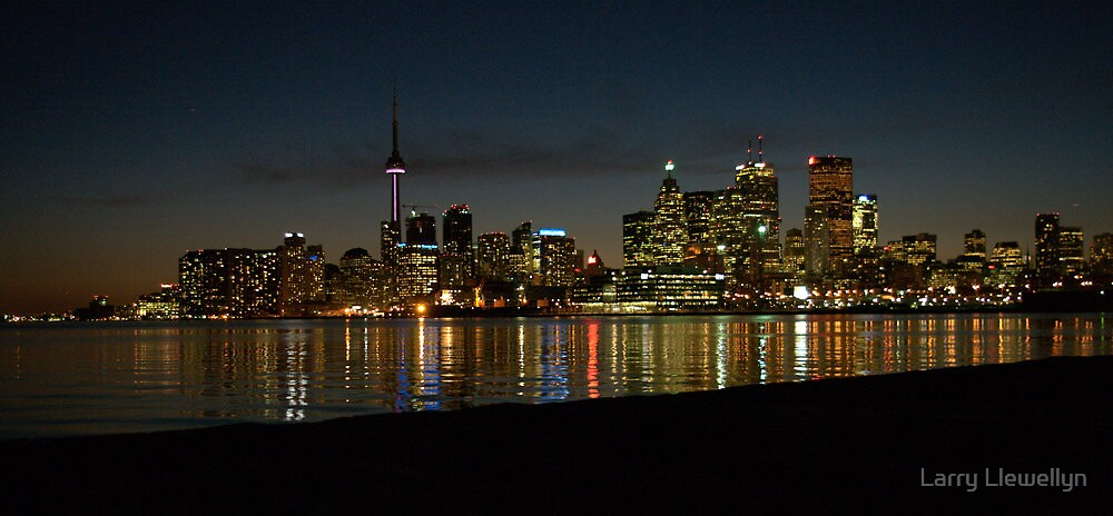 Toronto.......... in her evening dress... by Larry Llewellyn