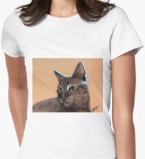 Big Kitten Women's Fitted T-Shirt
