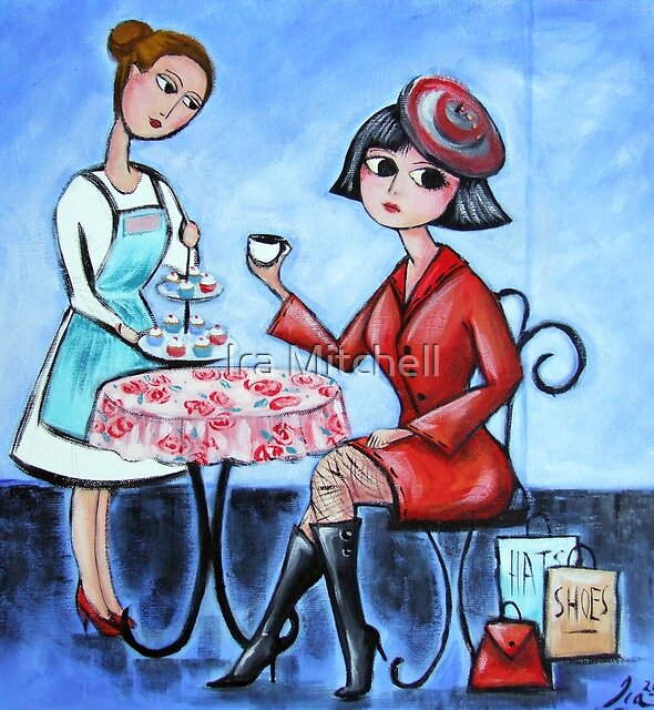 Cupcakes or not? by Ira Mitchell-Kirk