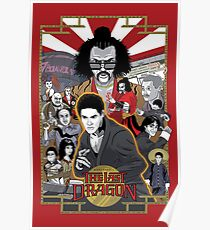 The Last Dragon Glow Movie Poster Poster