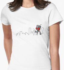 I-Destroy Women's Fitted T-Shirt