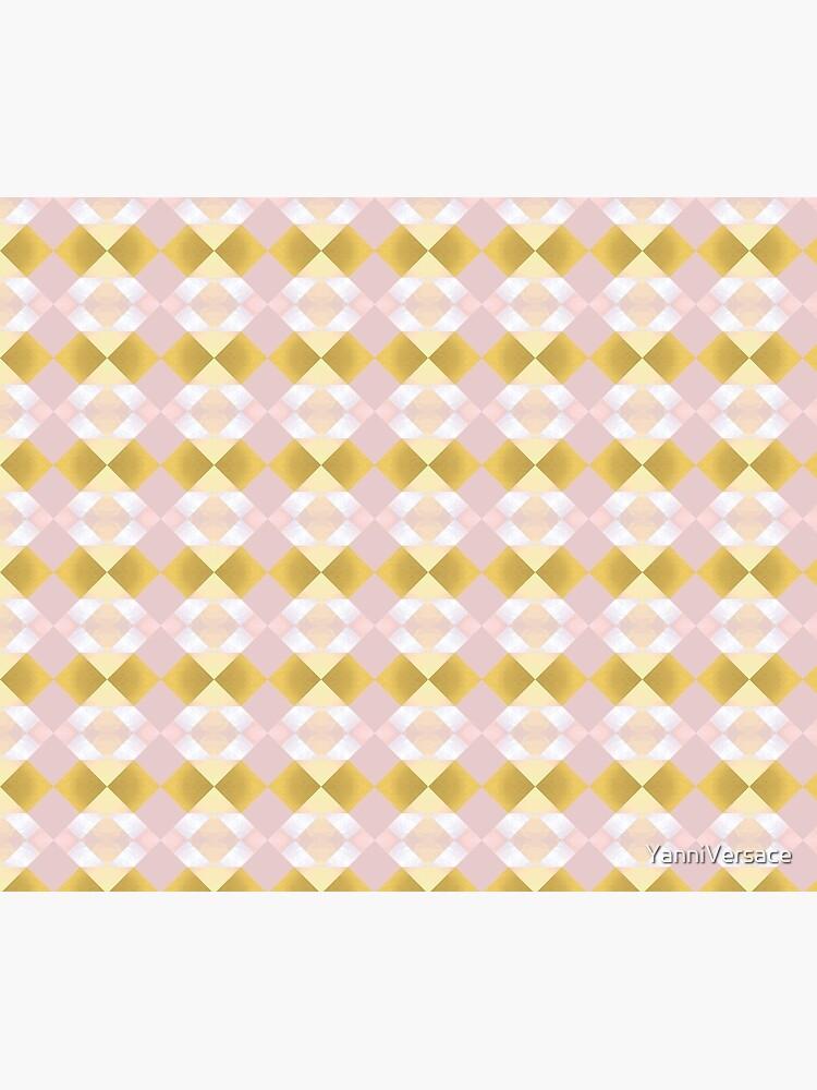 Diamant-bezauberndes Midcentury-Muster von YanniVersace