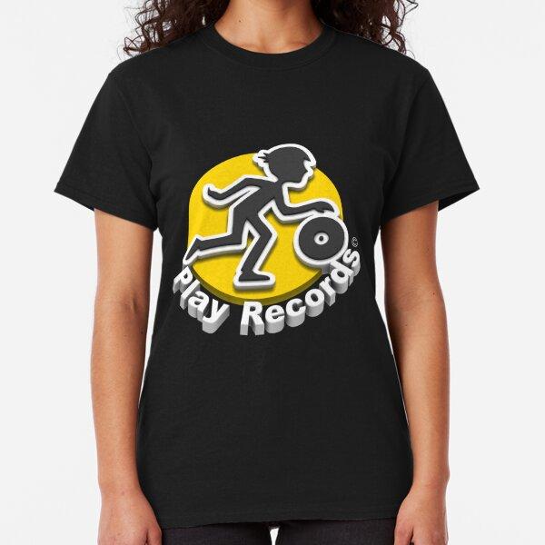 3D Play Records Logo Classic T-Shirt