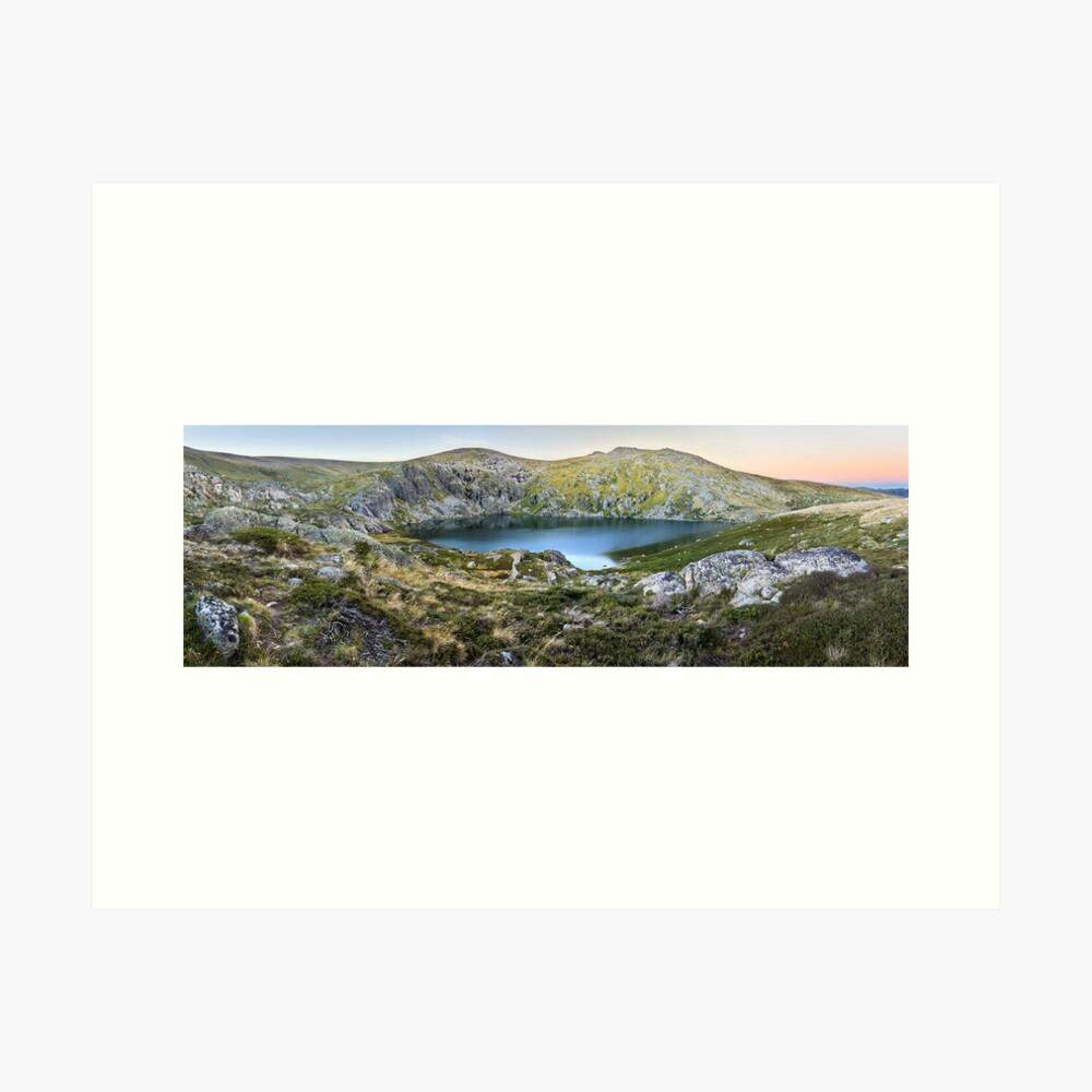 Blue Lake, Kosciusko National Park, Australia  Art Print