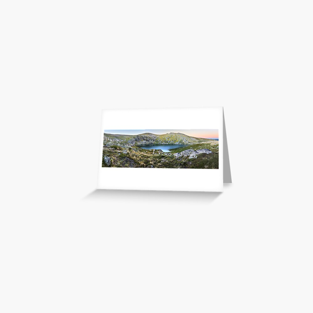 Blue Lake, Kosciusko National Park, Australia  Greeting Card