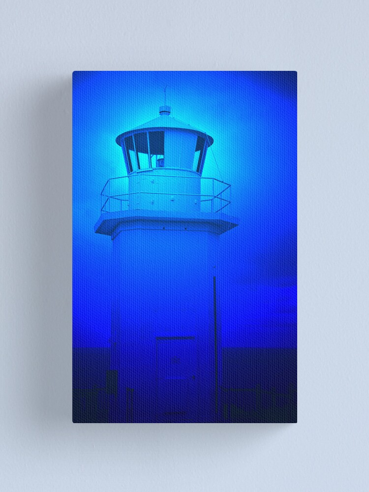 Alternate view of Cape Liptrap Lighthouse - Victoria  Canvas Print