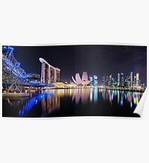 Marina  Bay - Singapore Poster