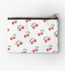 Cherries - hand drawn Zipper Pouch