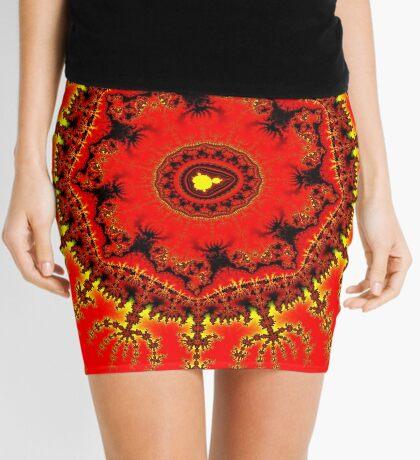 Persian Carpet Mandelbrot Mini Skirt