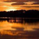 Gladhouse Sunset by Lynne Morris