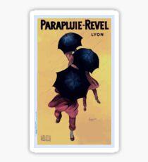 Leonetto Cappiello Affiche Parapluies Revel Sticker