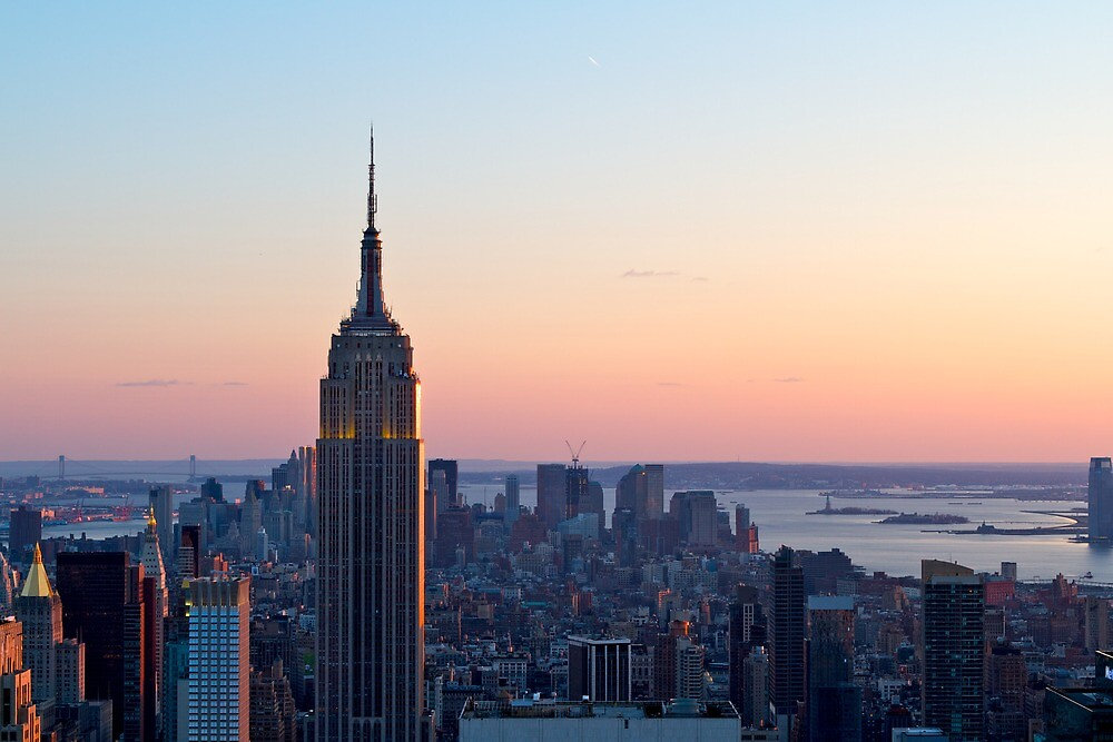 Empire State Building — Landscape by Alex Eckermann