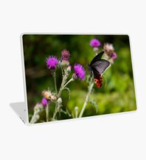 Butterfly And Thistle Laptop Skin