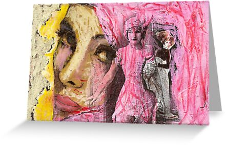 Buts and faces, 2011 by Thelma Van Rensburg