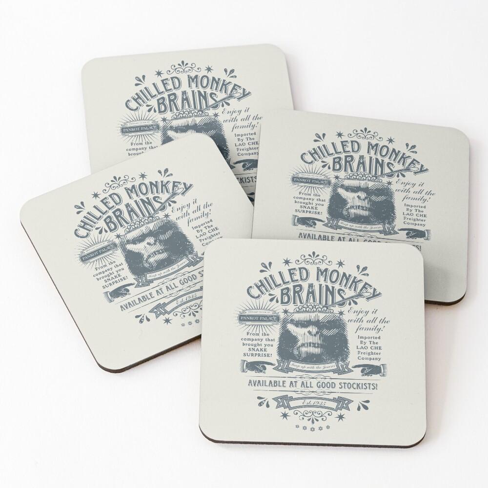 Chilled Monkey Brains Coasters (Set of 4)