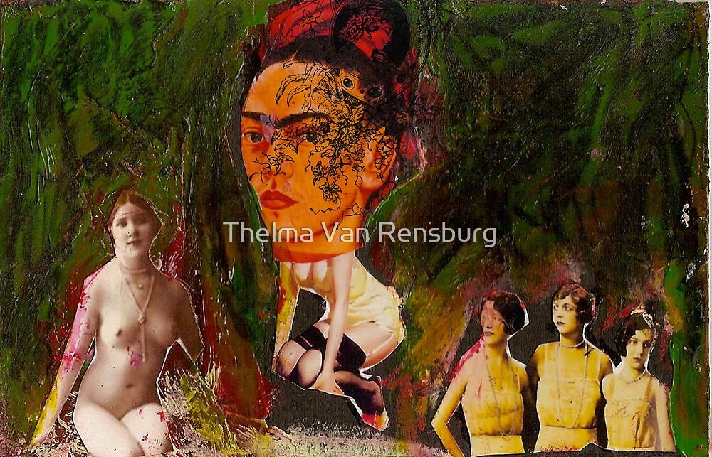 Frida, 2011 by Thelma Van Rensburg