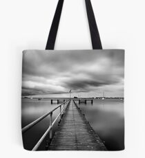 Griffin Gully B/W - Geelong Tote Bag