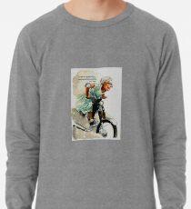 Bad Granny: Grandma's On Her Hog Lightweight Sweatshirt