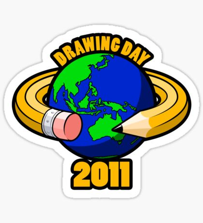 Drawing Day 2011 Sticker