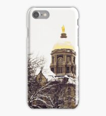 Notre Dame - Golden Dome iPhone Case/Skin