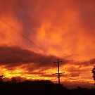 Glowing Sunset by amgmcpherson