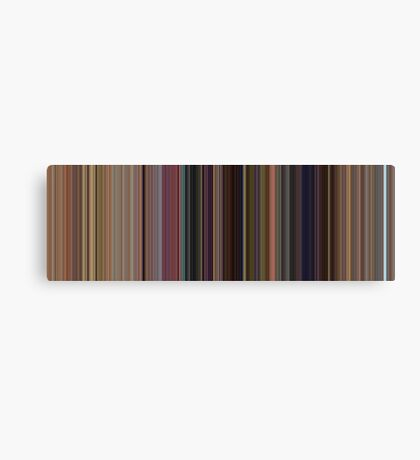 Moviebarcode: Toy Story (1995) [Simplified Colors] Canvas Print
