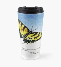 Lifelong Learning Butterfly Travel Mug