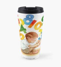 Counting Toes: Childhood Innocence Travel Mug