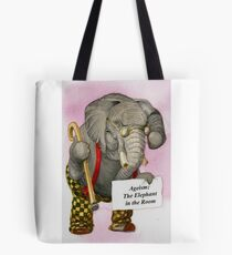 Ageism: The Elephant in the Room Tote Bag