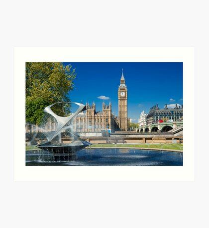 Big Ben: London, UK. Art Print