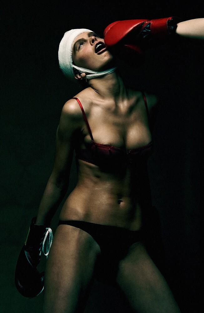 boxing Girl 2 by Evgeniy Lankin